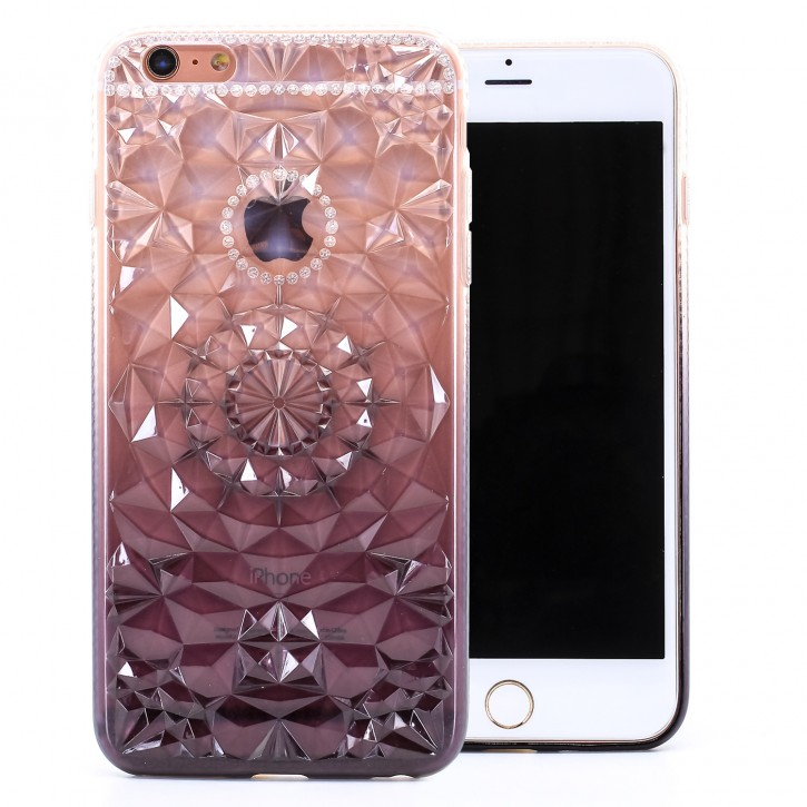 COOVY® Cover für Apple iPhone 6 + plus leichtes, dünnes TPU Silikon Bumper Case, Hülle, Slim, im Kristall Design |