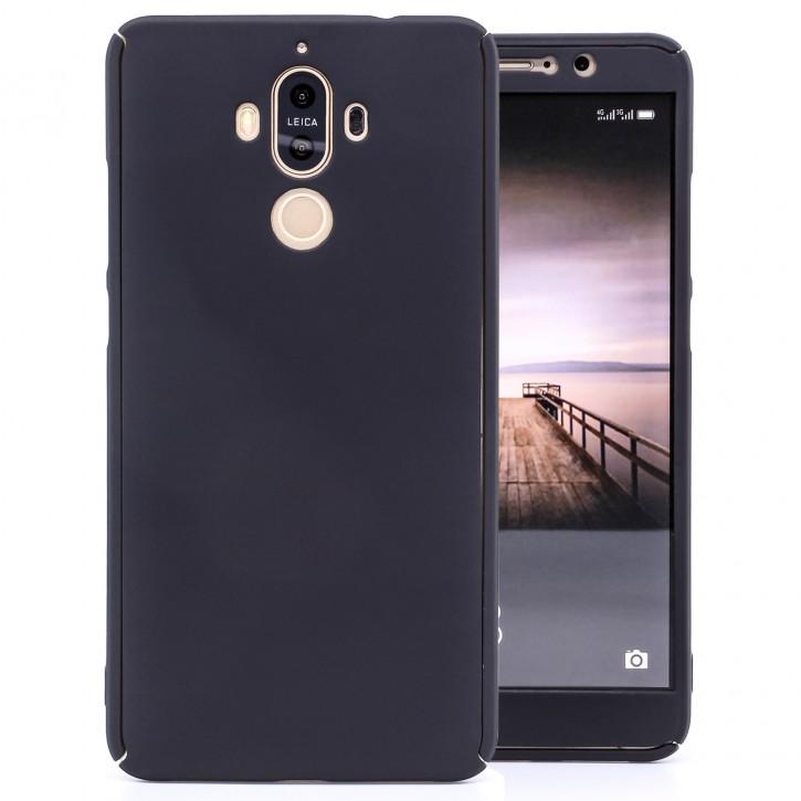COOVY® Cover für Huawei Mate 9 360 Grad rundum Bumper Case, ultra dünn und leicht, mit Displayschutz, Fullbody-Hülle