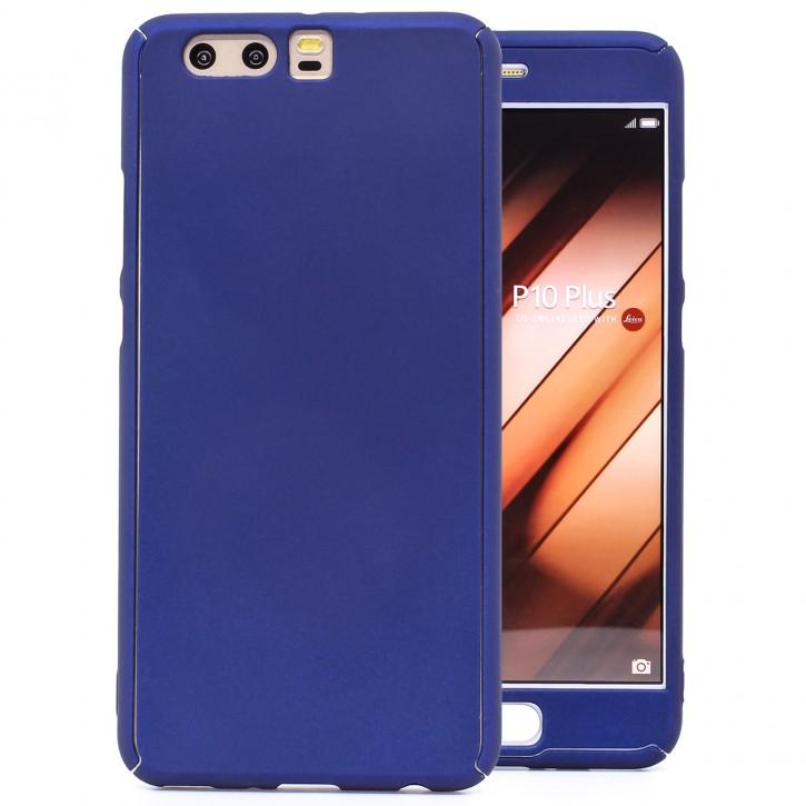 COOVY® Cover für Huawei P10 + plus 360 Grad rundum Bumper Case, ultra dünn und leicht, mit Displayschutz, Fullbody-Hülle