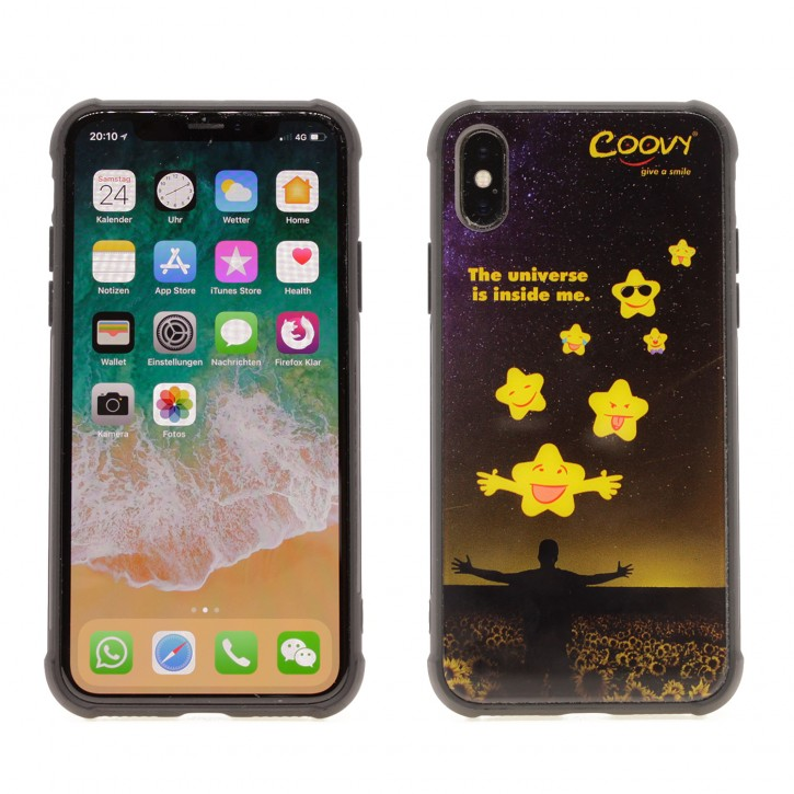 COOVY® Cover für Apple iPhone X / Xs