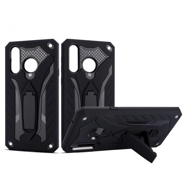 COOVY® Cover für Samsung Galaxy A8s SM-G8870 Bumper Case, Hülle Doppelschicht aus Plastik + TPU-Silikon, extra stark, Anti-Shock, Standfunktion |