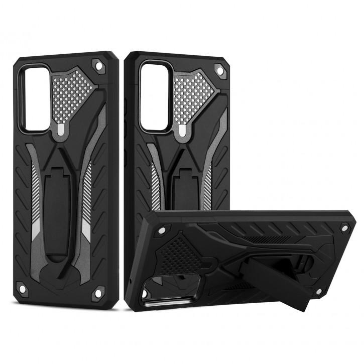 COOVY® Cover für Samsung Galaxy S20 Fan Edition SM-G781B / SM-G780F Bumper Case, Hülle Doppelschicht aus Plastik + TPU-Silikon, extra stark, Anti-Shock, Standfunktion |