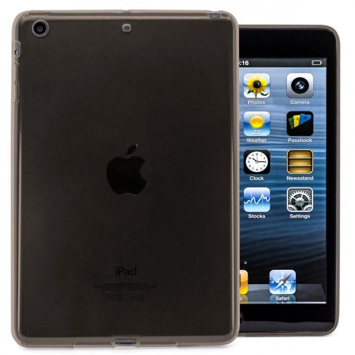 COOVY® Cover für Apple iPad mini 1 / 2 / 3 leichte, dünne Silikon Tablet Hülle Case Bumper in farbig transparentem Style als Backcover