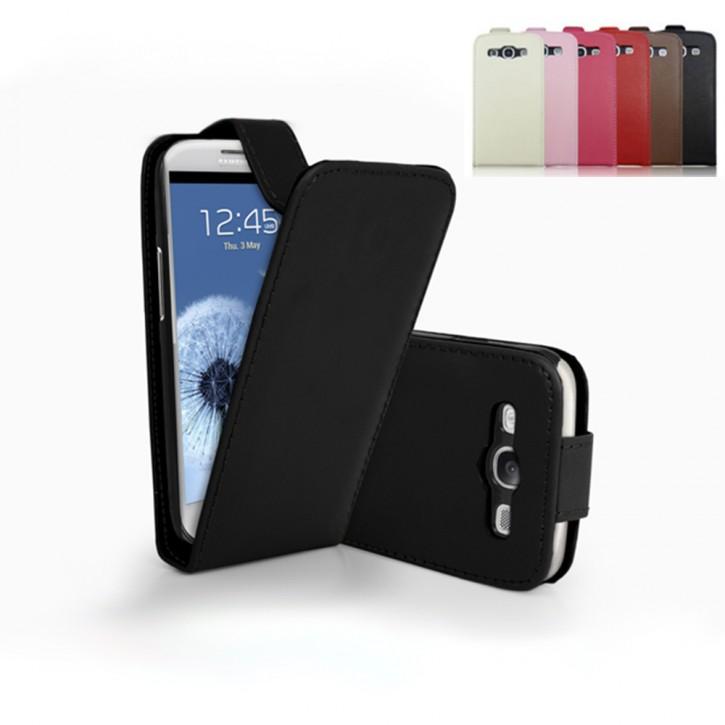 Flip Cover für Samsung Galaxy S3 GT-i9300 GT-i9305 Neo GT-i9301 TASCHE ETUI HANDY HÜLLE CASE