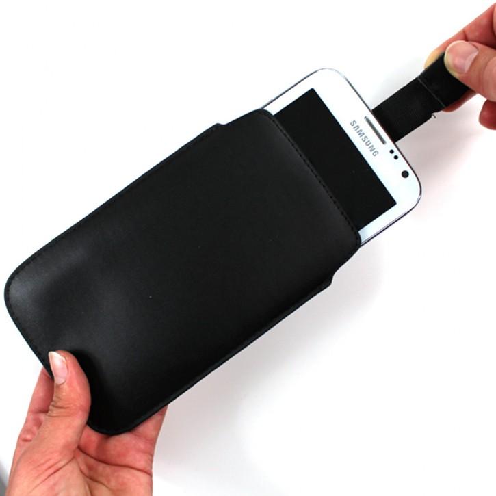 PULL TAB COVER für Samsung Galaxy NOTE 2 N7100 TASCHE SCHÜTZHÜLLE ETUI SLIM HÜLLE