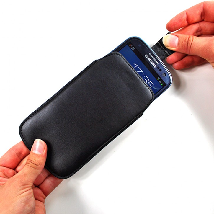 PULL TAB COVER für Samsung Galaxy S3 GT-i9300 GT-i9305 Neo GT-i9301 TASCHE SCHÜTZHÜLLE ETUI SLIM HÜLLE