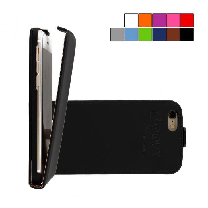 COOVY® Cover für Apple iPhone 6 / 6s Slim Flip Case Hülle Tasche Etui inklusive gratis Displayschutzfolie |