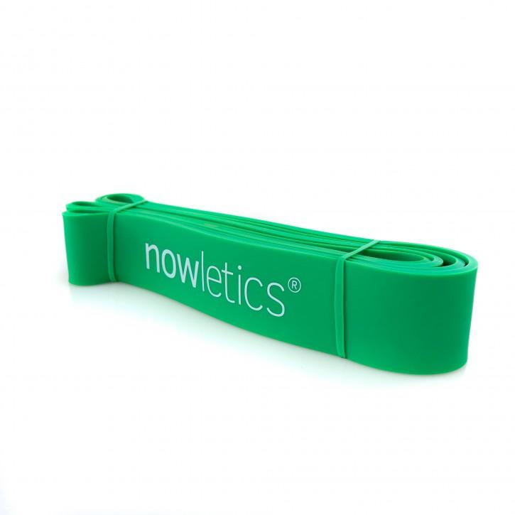 nowletics® Fitnessband/Widerstandsband zur Unterstützung bei Klimmzügen und als Trainingswiderstand   Premium Resistance Band