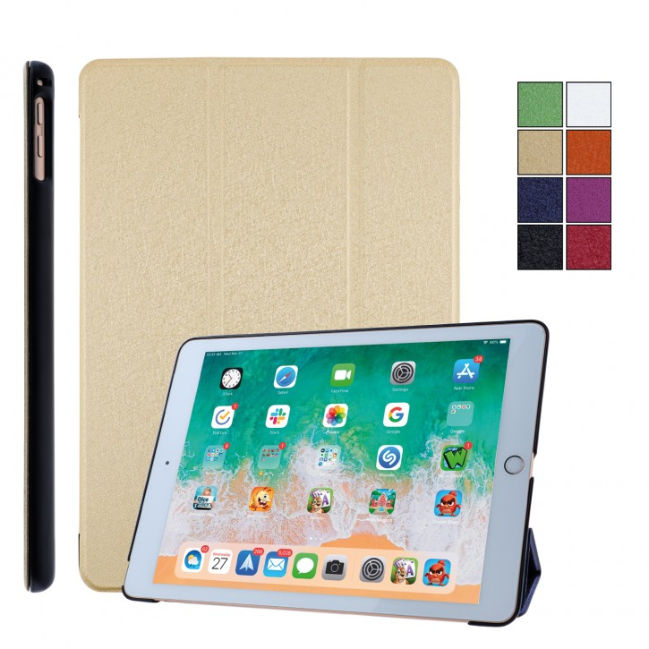 COOVY® Ultra Slim Cover für Apple iPad 9.7 (Model 2017 / 2018) Smart Schutzhülle Case Hülle mit Standfunktion und Auto Sleep/Wake up |