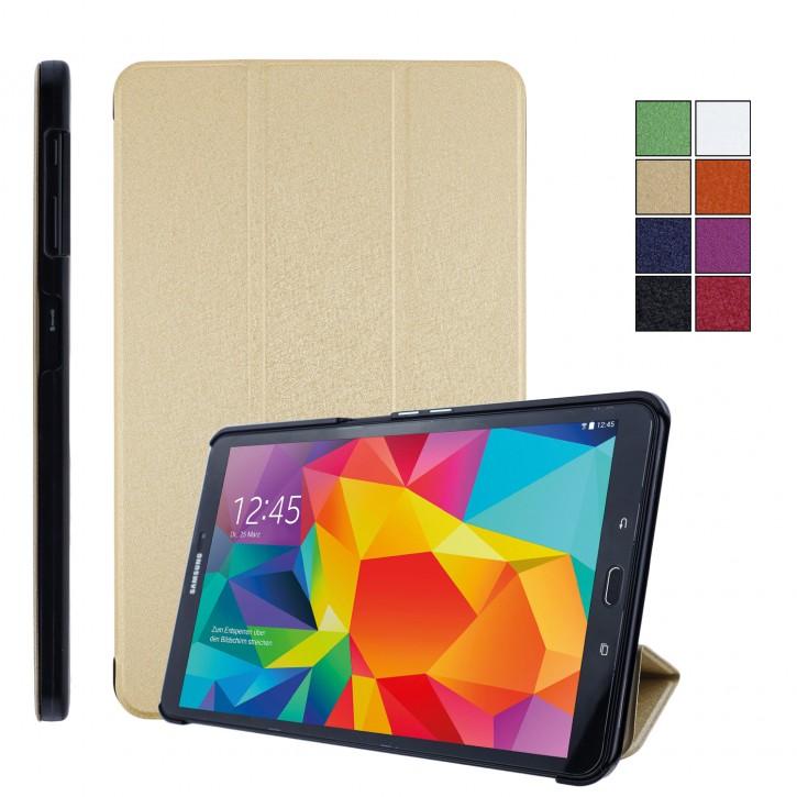 COOVY® Ultra Slim Cover für Samsung TAB A 10.1 (Model 2014) SM-T580 SM-T585 Smart Schutzhülle Case Hülle mit Standfunktion und Auto Sleep/Wake up  