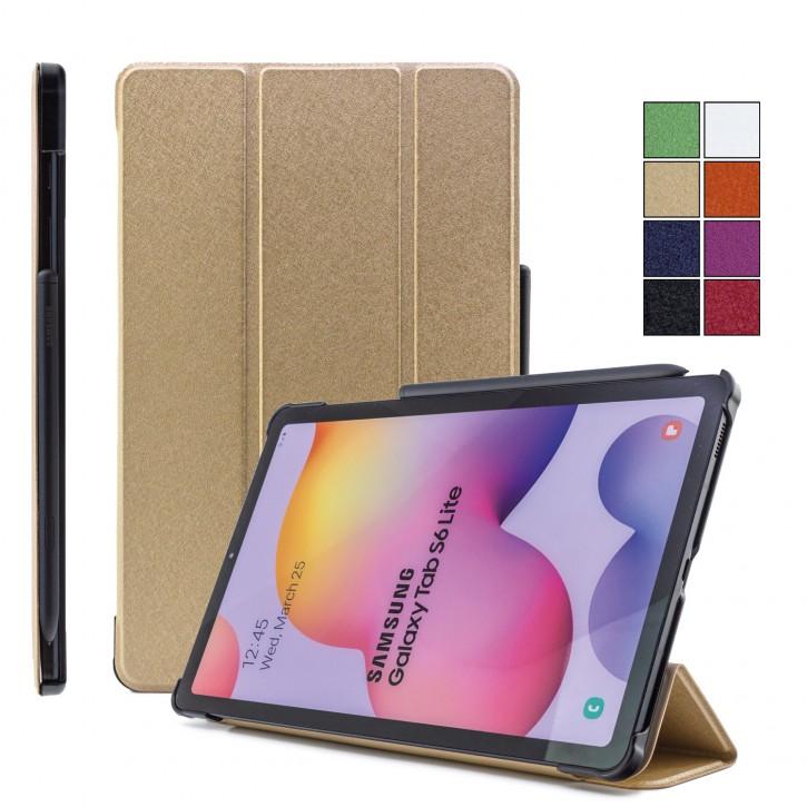 COOVY® Ultra Slim Cover für Samsung Galaxy TAB S6 LITE 10.4 SM-P610 SM-P615 Smart Schutzhülle Case Hülle mit Standfunktion und Auto Sleep/Wake up |