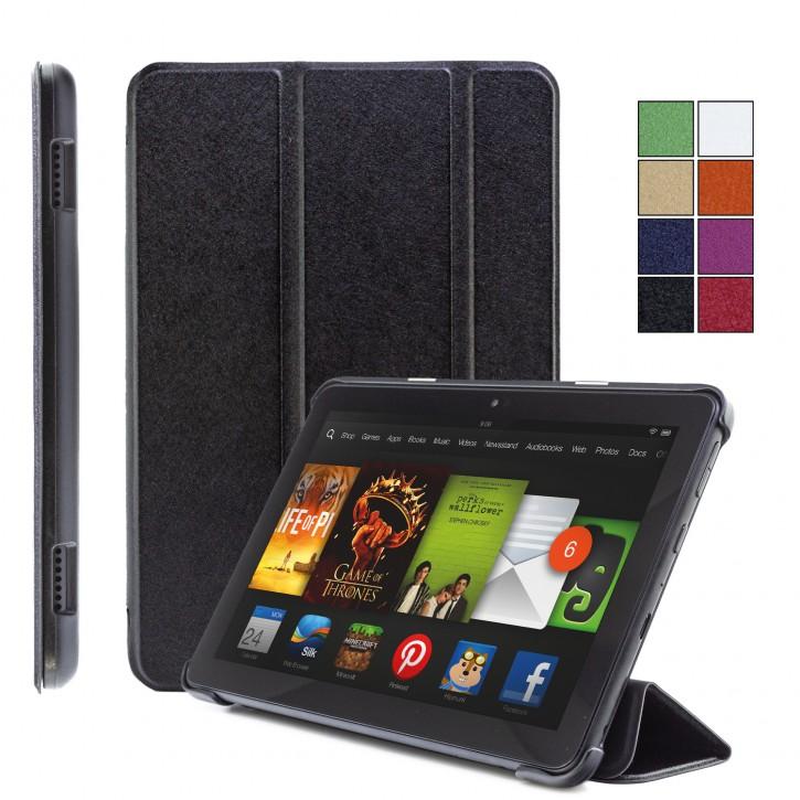COOVY® Ultra Slim Cover für Amazon Kindle Fire HD 8 (10. Gen. Model 2020) Smart Schutzhülle Case Hülle mit Standfunktion und Auto Sleep/Wake up |