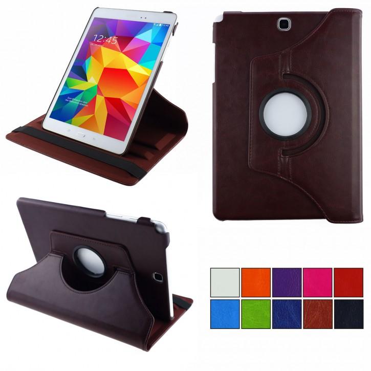COOVY® 2.0 Cover für Samsung Galaxy Tab A 9.7 SM-T550 SM-T555 SM-P550 SM-P555 Rotation 360° Smart Hülle Tasche Etui Case Schutz Ständer Auto Sleep/Wake up |