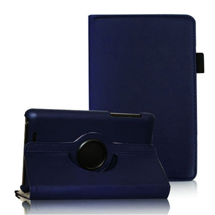 COOVY® Cover für Google ASUS Google Nexus 7 (1. Generation Model 2012) Rotation 360° Smart Hülle Tasche Etui Case Schutz Ständer Auto Sleep/Wake up