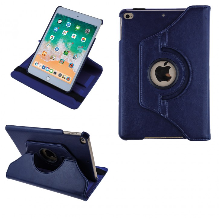 COOVY® Cover für Apple iPad mini 4 Retina Rotation 360° Smart Hülle Tasche Etui Case Schutz Ständer Auto Sleep/Wake up