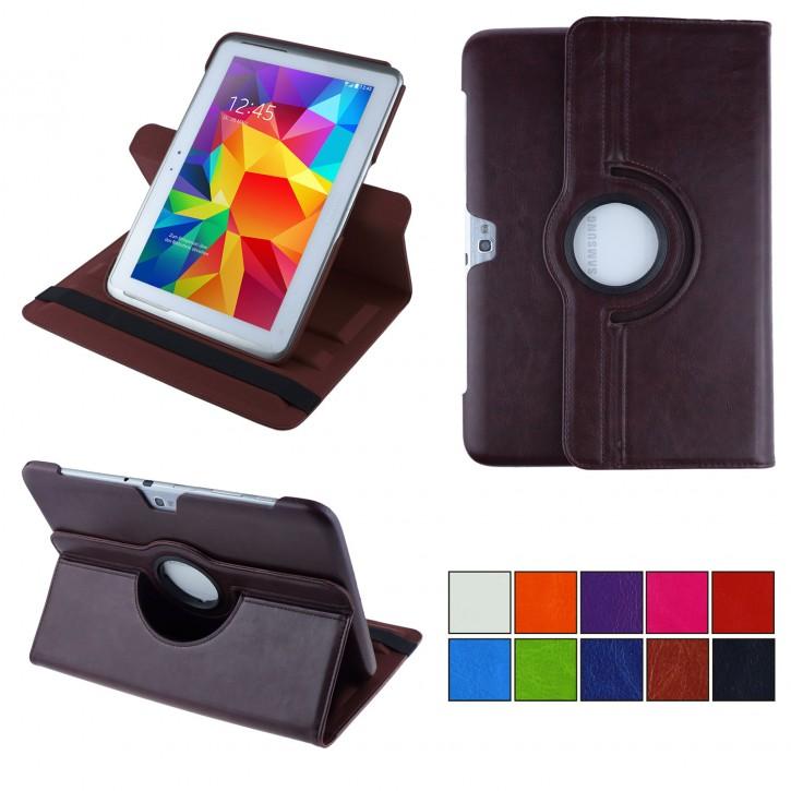 COOVY® 2.0 Cover für Samsung Galaxy Note 10.1 GT-N8000 GT-N8010 GT-N8020 Rotation 360° Smart Hülle Tasche Etui Case Schutz Ständer |