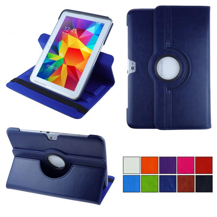 COOVY® Cover für Samsung Galaxy Note 10.1 GT-N8000 GT-N8010 GT-N8020 Rotation 360° Smart Hülle Tasche Etui Case Schutz Ständer