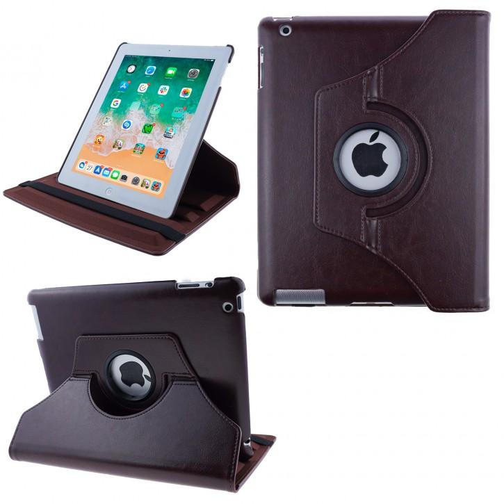 COOVY® 2.0 Cover für Apple iPad 2 / 3 / 4 Rotation 360° Smart Hülle Tasche Etui Case Schutz Ständer Auto Sleep/Wake up |