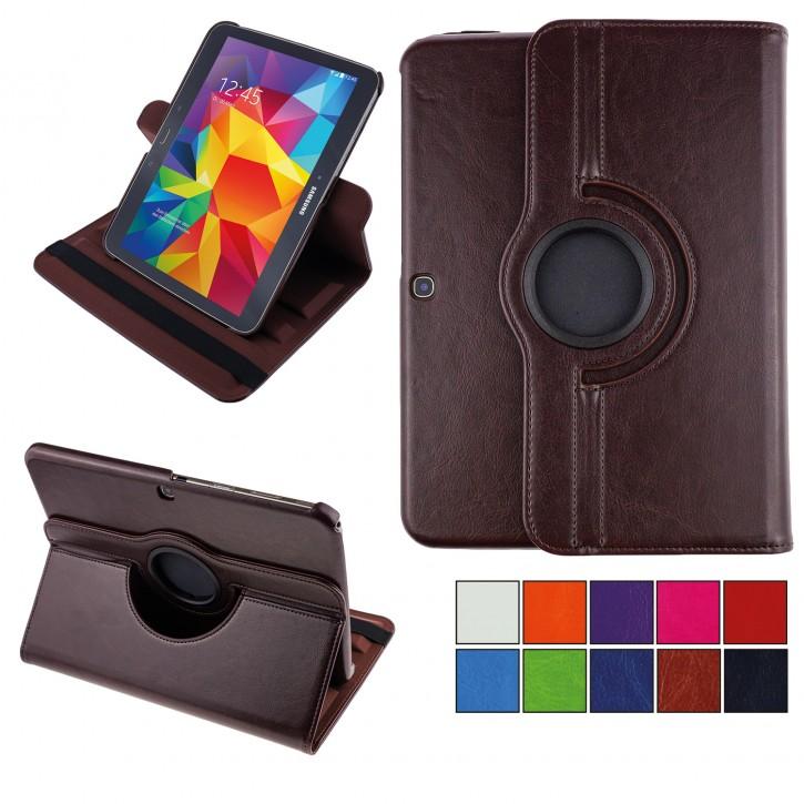 COOVY® 2.0 Cover für Samsung Galaxy TAB 3 10.1 GT-P5200 GT-P5210 GT-P5220 Rotation 360° Smart Hülle Tasche Etui Case Schutz Ständer Auto Sleep/Wake up  