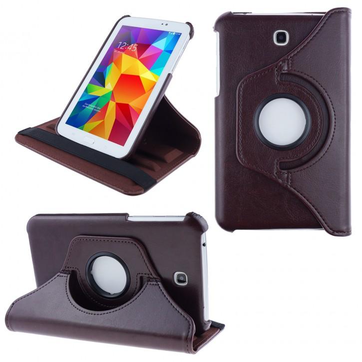 COOVY® 2.0 Cover für Samsung Galaxy TAB 3 7.0 GT-P3200 GT-P3210 SM-T210 SM-T211 Rotation 360° Smart Hülle Tasche Etui Case Schutz Ständer  