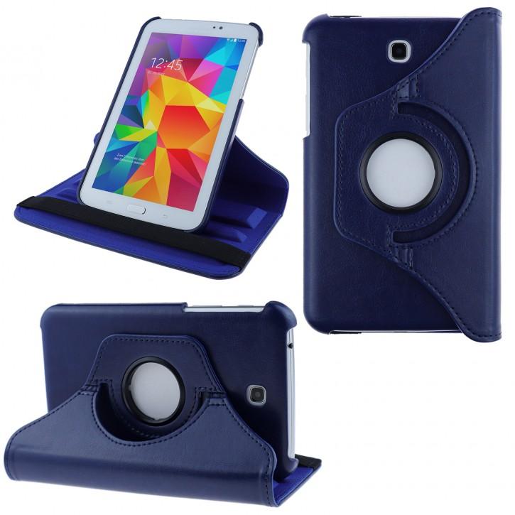COOVY® Cover für Samsung Galaxy TAB 3 7.0 GT-P3200 GT-P3210 SM-T210 SM-T211 Rotation 360° Smart Hülle Tasche Etui Case Schutz Ständer