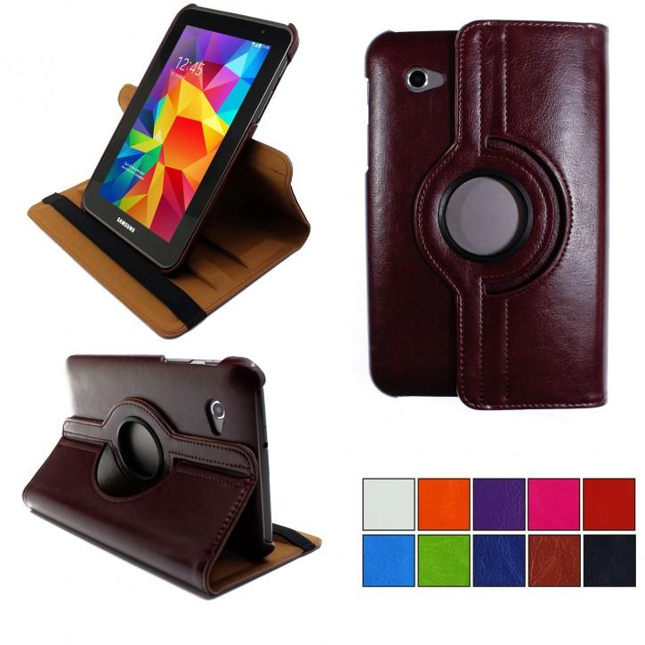 COOVY® 2.0 Cover für Samsung Galaxy TAB 2 7.0 GT-P3100 GT-P3110 Rotation 360° Smart Hülle Tasche Etui Case Schutz Ständer  
