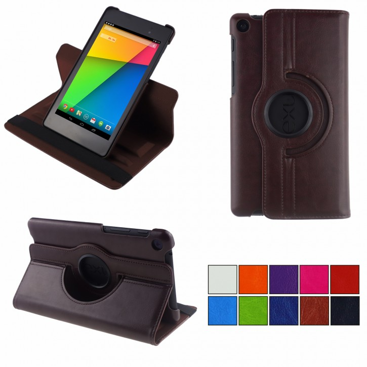 COOVY® 2.0 Cover für Google ASUS Google Nexus 7 (2. Generation Model 2013) Rotation 360° Smart Hülle Tasche Etui Case Schutz Ständer Auto Sleep/Wake up |