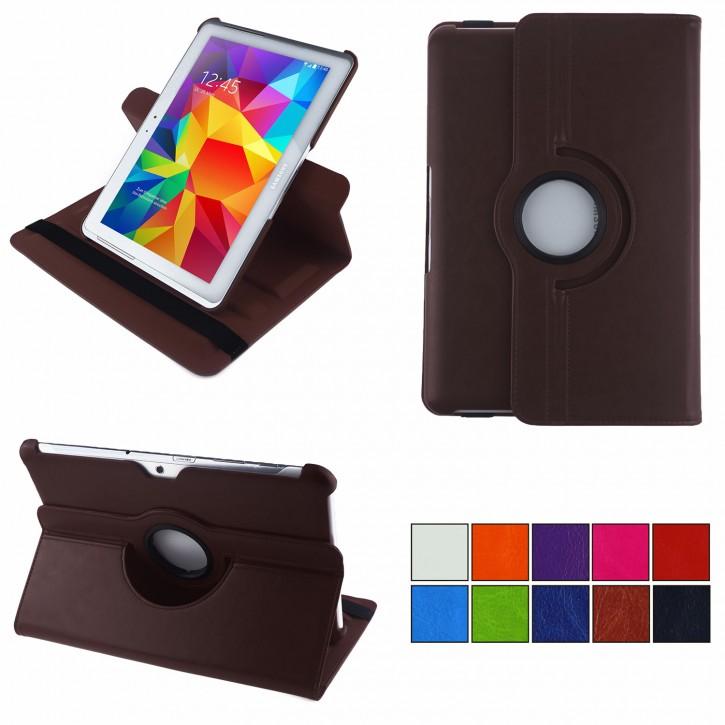 COOVY® 2.0 Cover für Samsung Galaxy TAB 10.1 N GT-P7500 GT-P7501 GT-P7510 GT-P7511, TAB 2 10.1 P5100 P5110 Rotation 360° Smart Hülle Tasche Etui Case Schutz Ständer |