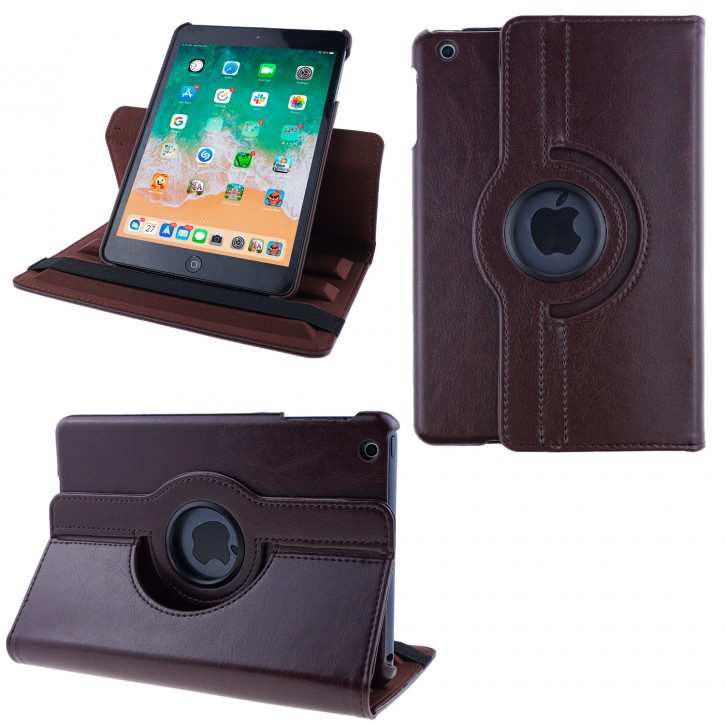 COOVY® Cover für Apple iPad mini 1 / 2 / 3 Rotation 360° Smart Hülle Tasche Etui Case Schutz Ständer Auto Sleep/Wake up |