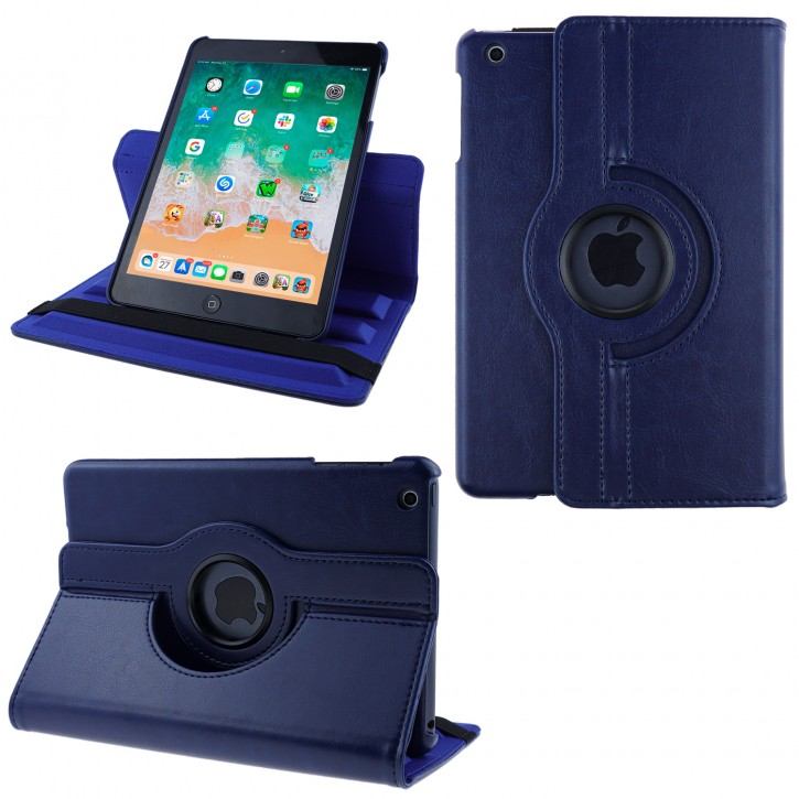 COOVY® Cover für Apple iPad mini 1 / 2 / 3 Rotation 360° Smart Hülle Tasche Etui Case Schutz Ständer Auto Sleep/Wake up