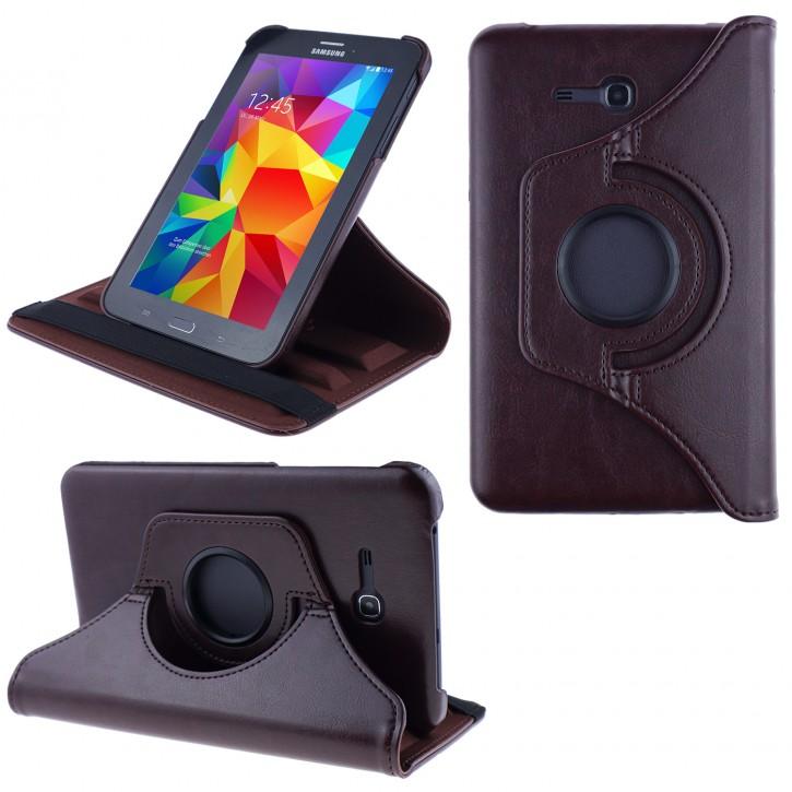 COOVY® 2.0 Cover für Samsung Galaxy TAB 3 LITE 7.0 SM-T110 SM-T111 Rotation 360° Smart Hülle Tasche Etui Case Schutz Ständer |