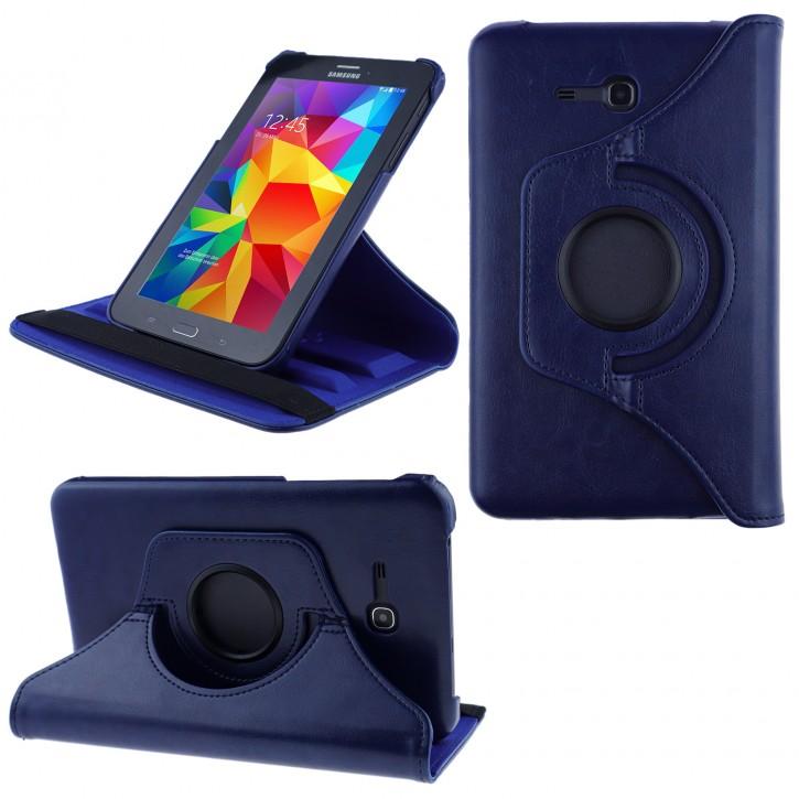 COOVY® Cover für Samsung Galaxy TAB 3 LITE 7.0 SM-T110 SM-T111 Rotation 360° Smart Hülle Tasche Etui Case Schutz Ständer