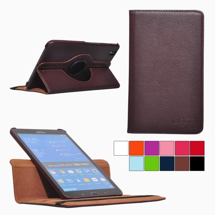 COOVY® Cover für Samsung Galaxy TAB PRO 8.4 SM-T320 SM-T321 SM-T325 Rotation 360° Smart Hülle Tasche Etui Case Schutz Ständer Auto Sleep/Wake up |