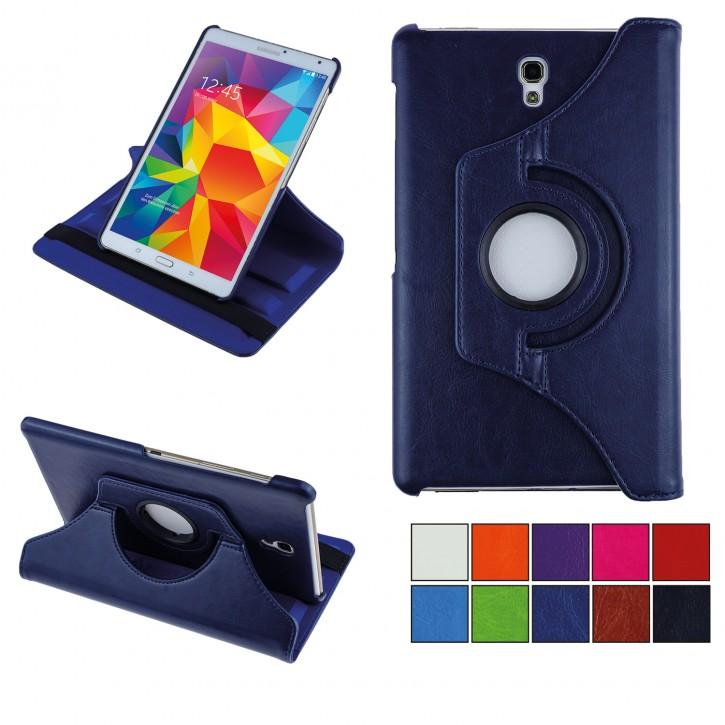 COOVY® Cover für Samsung Galaxy TAB S 8.4 SM-T700 SM-T701 SM-T705 Rotation 360° Smart Hülle Tasche Etui Case Schutz Ständer