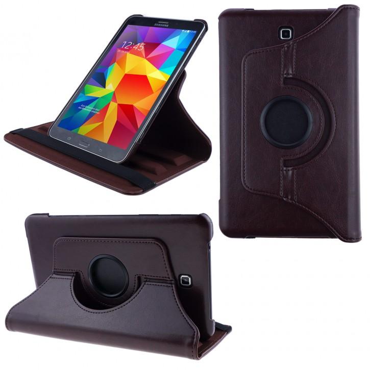 COOVY® 2.0 Cover für Samsung Galaxy TAB 4 8.0 SM-T330 SM-T331 SM-T335 Rotation 360° Smart Hülle Tasche Etui Case Schutz Ständer Auto Sleep/Wake up |