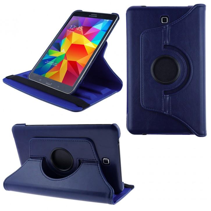 COOVY® Cover für Samsung Galaxy TAB 4 8.0 SM-T330 SM-T331 SM-T335 Rotation 360° Smart Hülle Tasche Etui Case Schutz Ständer Auto Sleep/Wake up |