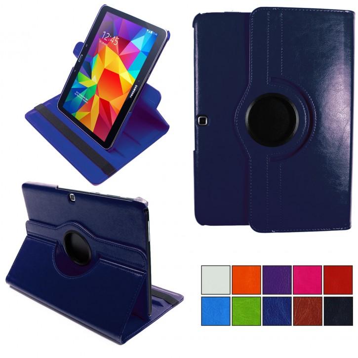 COOVY® 2.0 Cover für Samsung Galaxy TAB 4 10.1 SM-T530 SM-T531 SM-T535 Rotation 360° Smart Hülle Tasche Etui Case Schutz Ständer Auto Sleep/Wake up