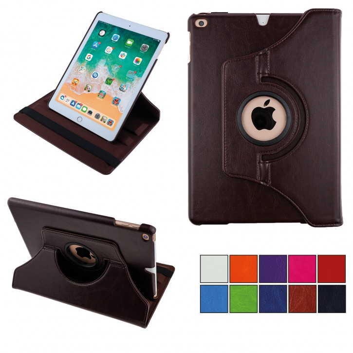 COOVY® 2.0 Cover für Apple iPad Air II  (2. Gen. Model 2014) Rotation 360° Smart Hülle Tasche Etui Case Schutz Ständer Auto Sleep/Wake up |