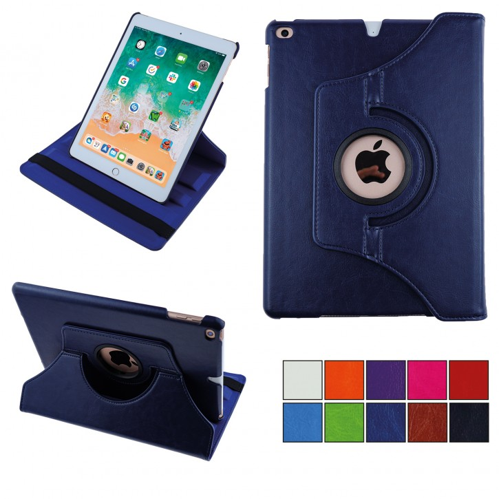 COOVY® Cover für Apple iPad Air II / iPad 6 (Model 2014) Rotation 360° Smart Hülle Tasche Etui Case Schutz Ständer Auto Sleep/Wake up