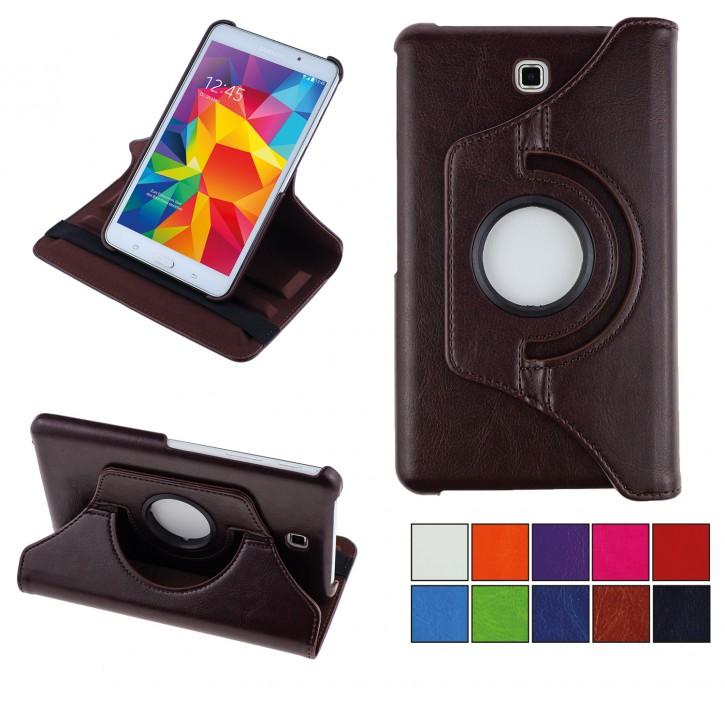 COOVY® 2.0 Cover für Samsung Galaxy TAB 4 7.0 SM-T230 SM-T231 SM-T235 Rotation 360° Smart Hülle Tasche Etui Case Schutz Ständer  
