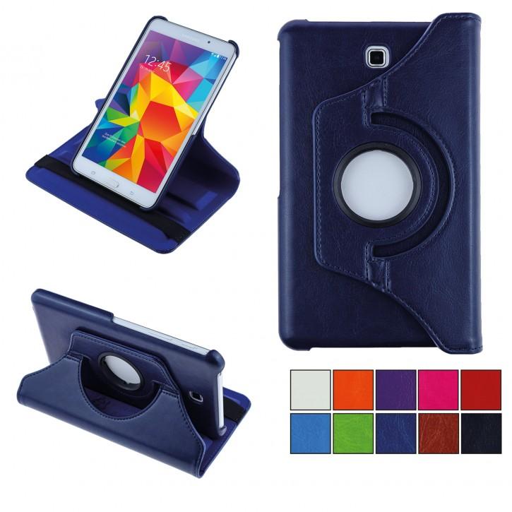 COOVY® Cover für Samsung Galaxy TAB 4 7.0 SM-T230 SM-T231 SM-T235 Rotation 360° Smart Hülle Tasche Etui Case Schutz Ständer