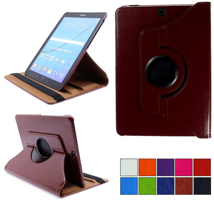 COOVY® 2.0 Cover für Samsung Galaxy Tab S2 9.7 SM-T810 SM-T813 SM-T815 SM-T819 Rotation 360° Smart Hülle Tasche Etui Case Schutz Ständer Auto Sleep/Wake up |