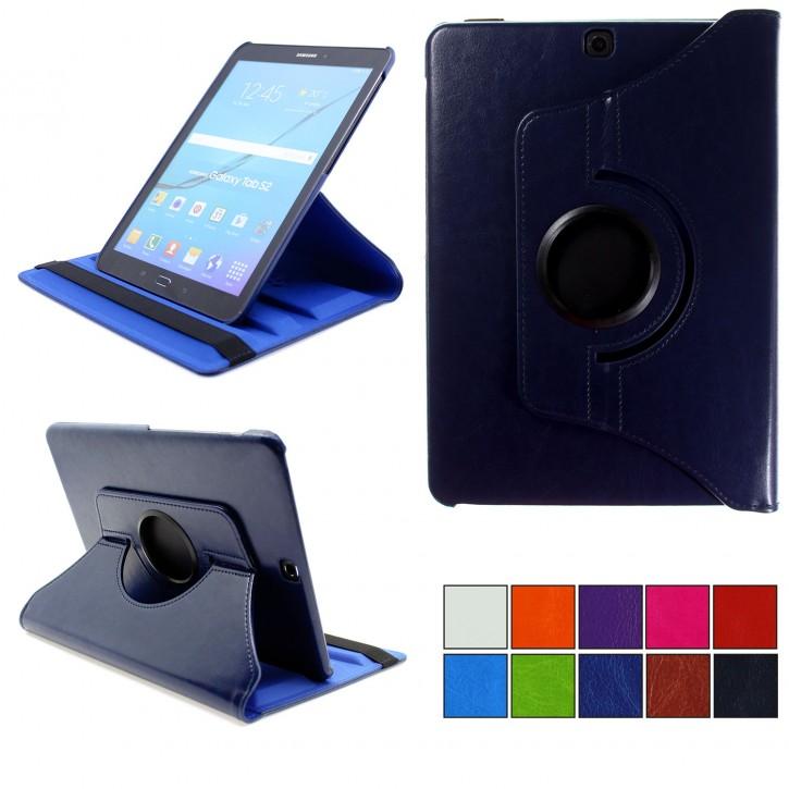 COOVY® 2.0 Cover für Samsung Galaxy Tab S2 9.7 SM-T810 SM-T813 SM-T815 SM-T819 Rotation 360° Smart Hülle Tasche Etui Case Schutz Ständer Auto Sleep/Wake up