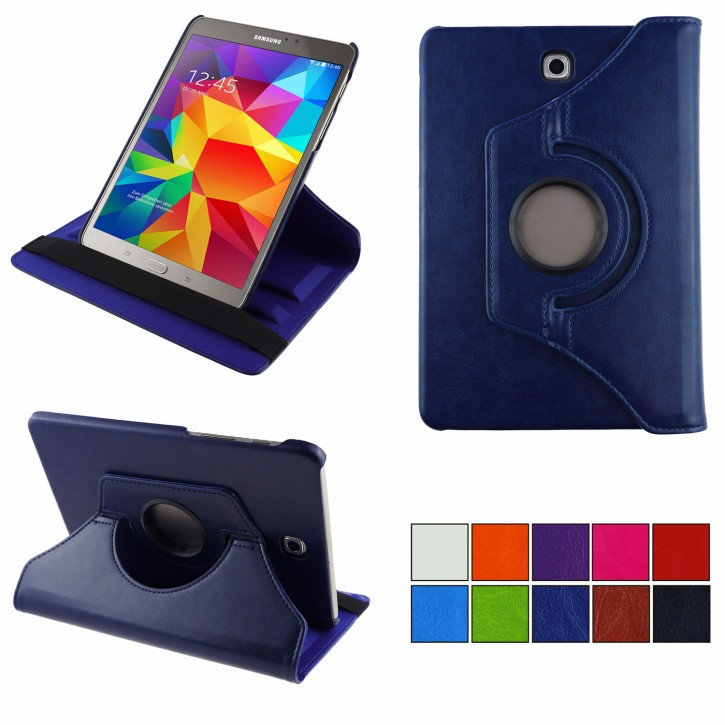 COOVY® Cover für Samsung Galaxy Tab S2 8.0 SM-T710 SM-T713 SM-T715 Rotation 360° Smart Hülle Tasche Etui Case Schutz Ständer Auto Sleep/Wake up
