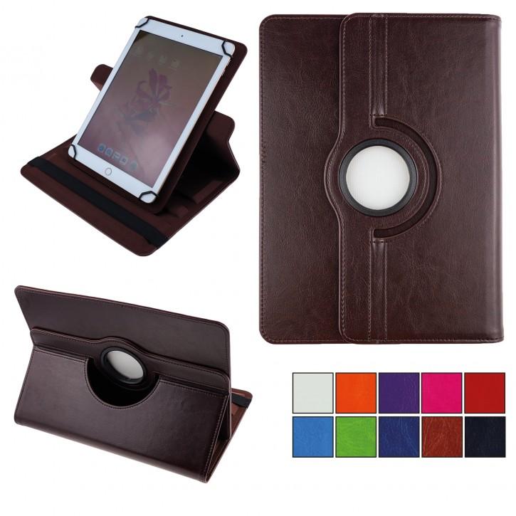 COOVY® 2.0 360° Rotation Cover Universal für alle 9 / 10 / 10.1 Zoll Tablet Modelle Hülle Tasche Etui Case Schutz Ständer | UNIVERSAL 10.1