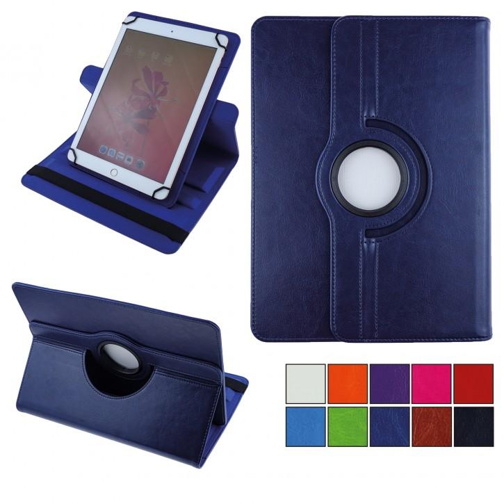 COOVY® 360° Rotation Cover Universal für alle 9 / 10 / 10.1 Zoll Tablet Modelle Hülle Tasche Etui Case Schutz Ständer UNIVERSAL 10.1