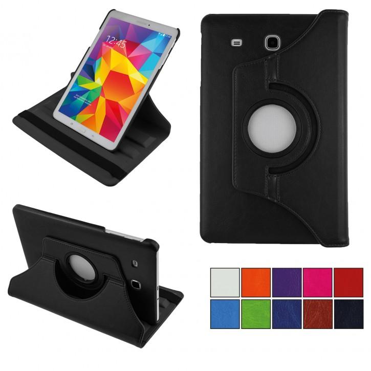 COOVY® 2.0 Cover für Samsung TAB E 9.6 SM-T560 SM-T561 SM-T565 Rotation 360° Smart Hülle Tasche Etui Case Schutz Ständer  