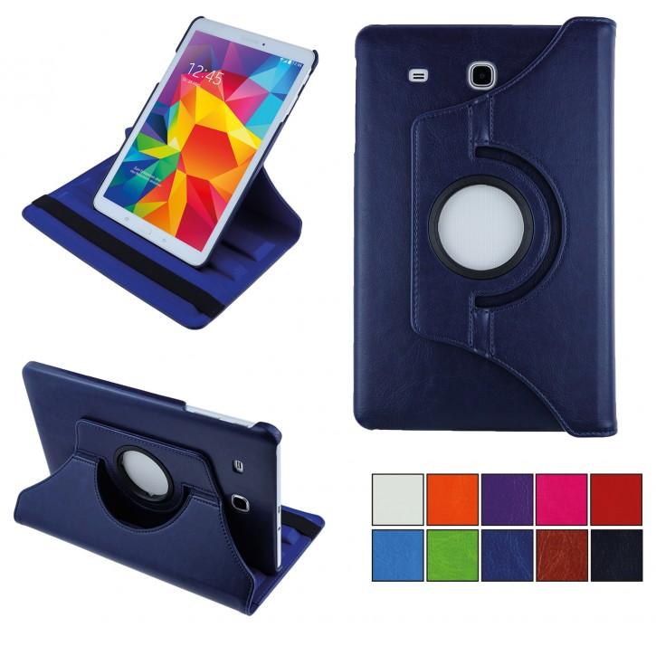 COOVY® Cover für Samsung TAB E 9.6 SM-T560 SM-T561 SM-T565 Rotation 360° Smart Hülle Tasche Etui Case Schutz Ständer
