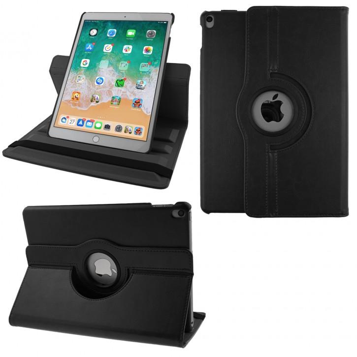 COOVY® Cover für Apple iPad pro 10.5 (2017), iPad Air 10.5 (3. Gen. 2019) Rotation 360° Smart Hülle Tasche Etui Case Schutz Ständer Auto Sleep/Wake up |