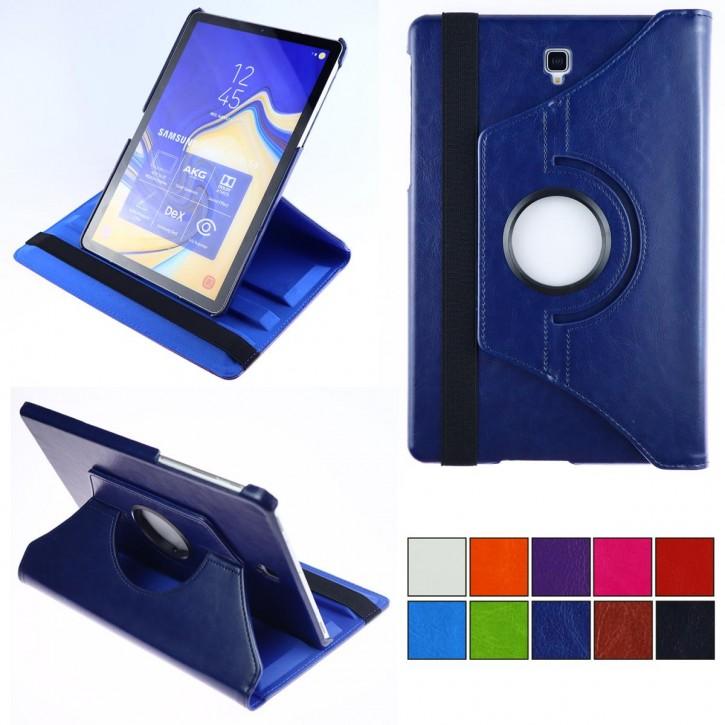 COOVY® 2.0 Cover für Samsung Galaxy TAB S4 10.5 SM-T830 SM-T835 Rotation 360° Smart Hülle Tasche Etui Case Schutz Ständer Auto Sleep/Wake up |